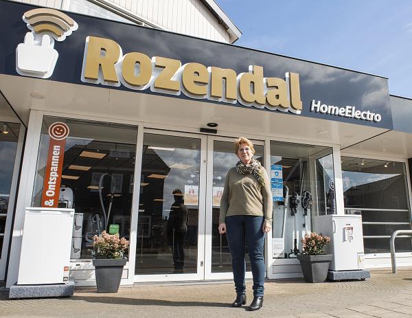 Rozendal HomeElectro Heerde bestaat dit jaar 60 jaar, Gerrie Rozendal neemt afscheid