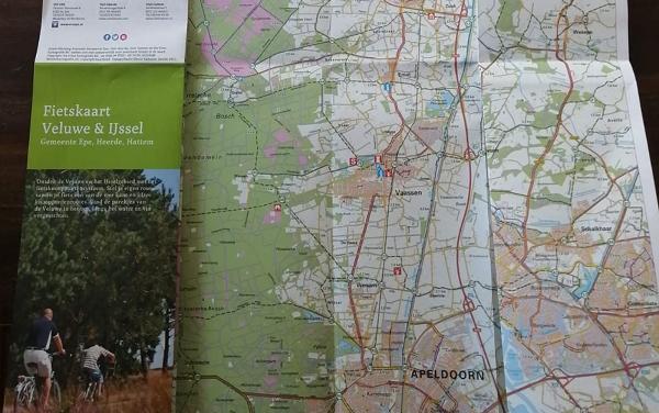 Fietskaart Veluwe & IJssel