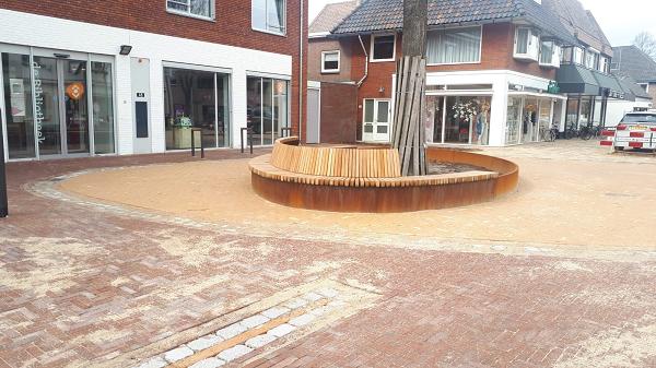 Einde werkzaamheden Dorpsstraat in Vaassen bijna in zicht