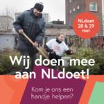 NL Doet op 28 en 29 mei