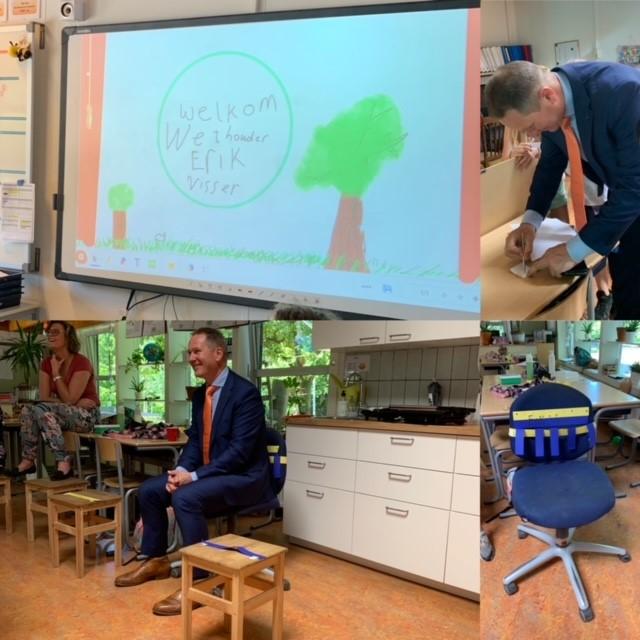 Kinderen Jenaplanschool 't Hoge Land in gesprek over duurzaamheid
