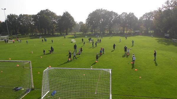 Voetbal Festijn voor  jeugd bij SV Vaassen