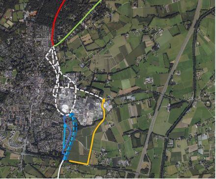Verkenning drie mogelijke tracés door Epe voor vlotte en veilige fietsroute F50