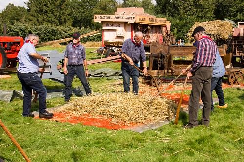 Historische landbouwdag 2021 bij Hagendoorns Plaatse
