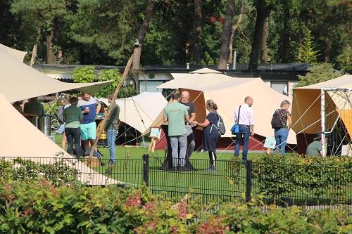 AtomaTent najaarsshow 2021 op Camping de Zandhegge in Emst