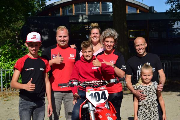 Droom komt uit voor motorcross talen Gio Veldhuis!