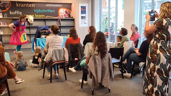 Bibliotheek Vaassen vanaf heden zaterdag geopend!